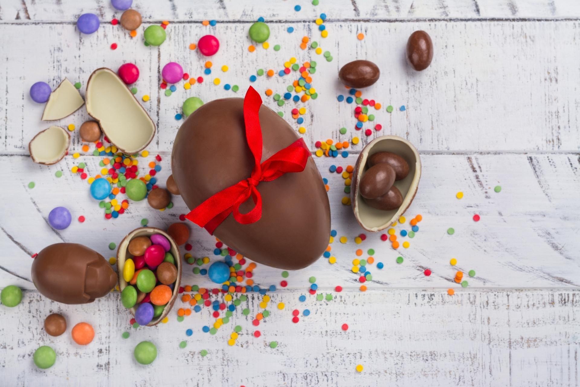 Osterschokolade für die Gesundheit