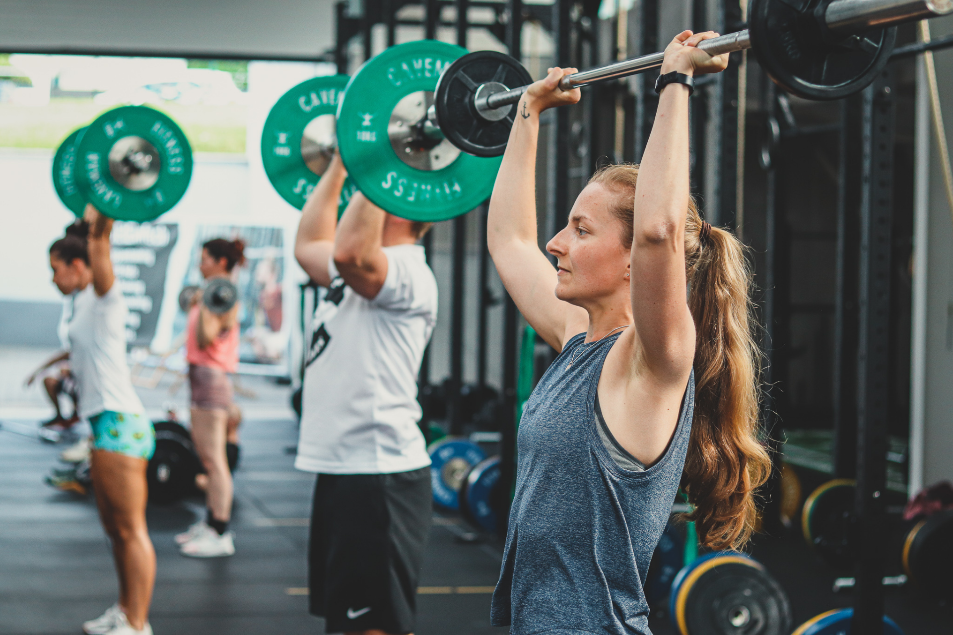 Sportler haben eine Intention für ihr Training.